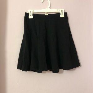 Forever 21 black skater skirt!